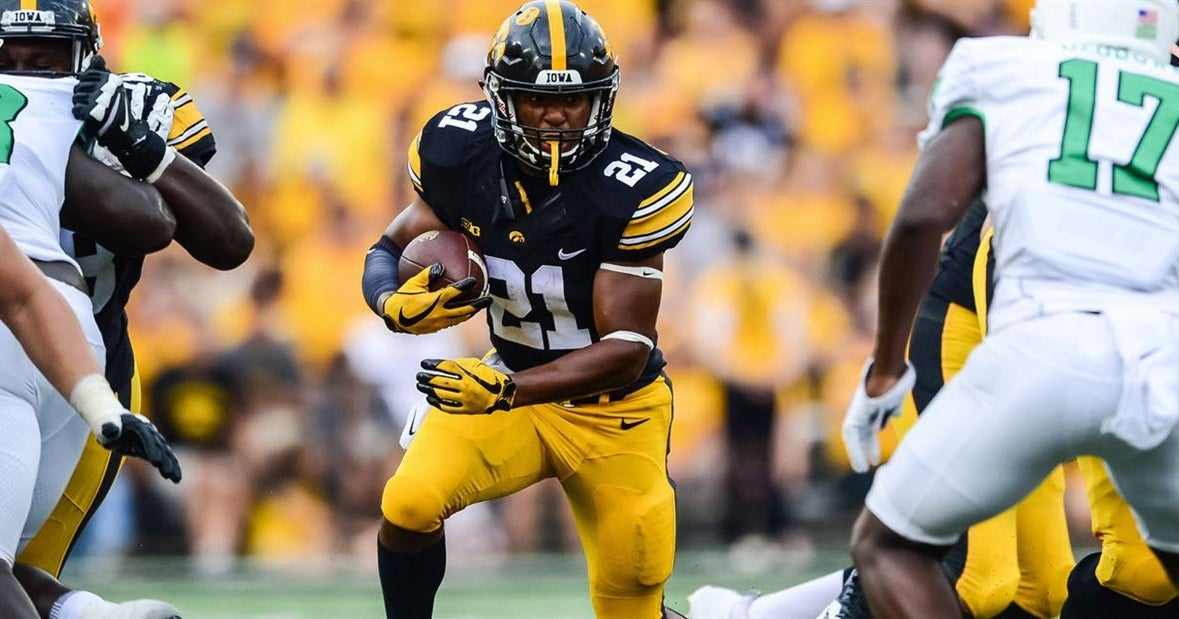 Iowa considering redshirting running back Ivory Kelly-Martin