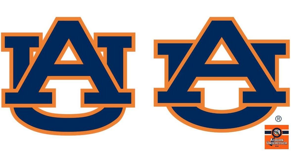 How much money did Auburn spend on new logo?