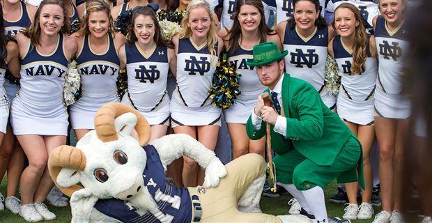 Head to Head: Navy vs Notre Dame