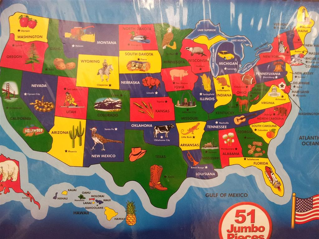 OT What are states known for.