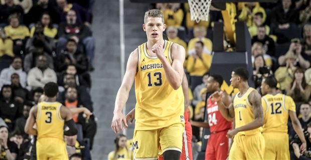Sights from Michigan's 74-62 victory over Ohio State