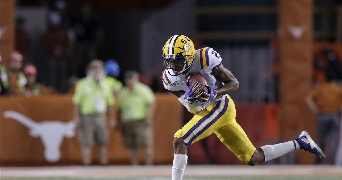LSU wants its visitors to remember game-winning TD vs. Texas