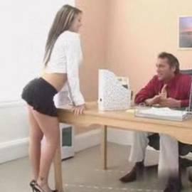 Secretary nice ass