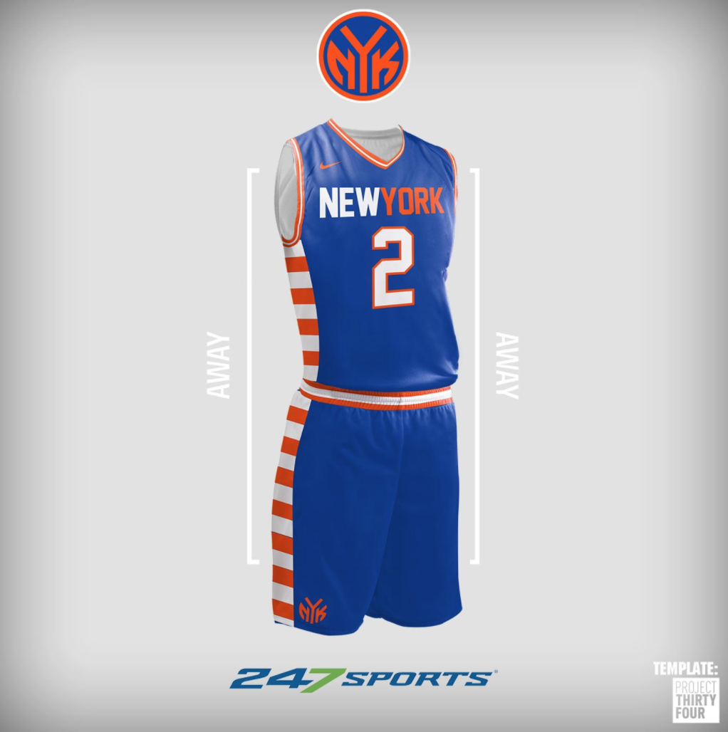 Look nba uniform concepts for some of the league best teams png 1022x1028 New  york knicks 7efa79870