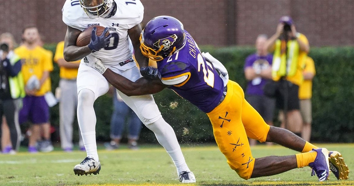 ECU opens as slight favorite ahead of Old Dominion game