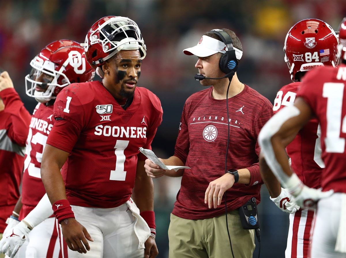 Hurts Riley React To Oklahoma S Big 12 Title We Re Not Done