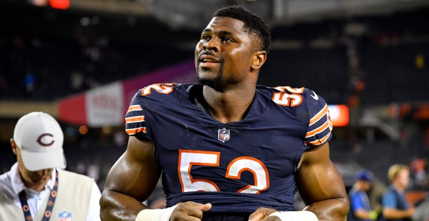 premium selection 636cb 15ccb Khalil Mack reacts to a poem written about him by a young fan