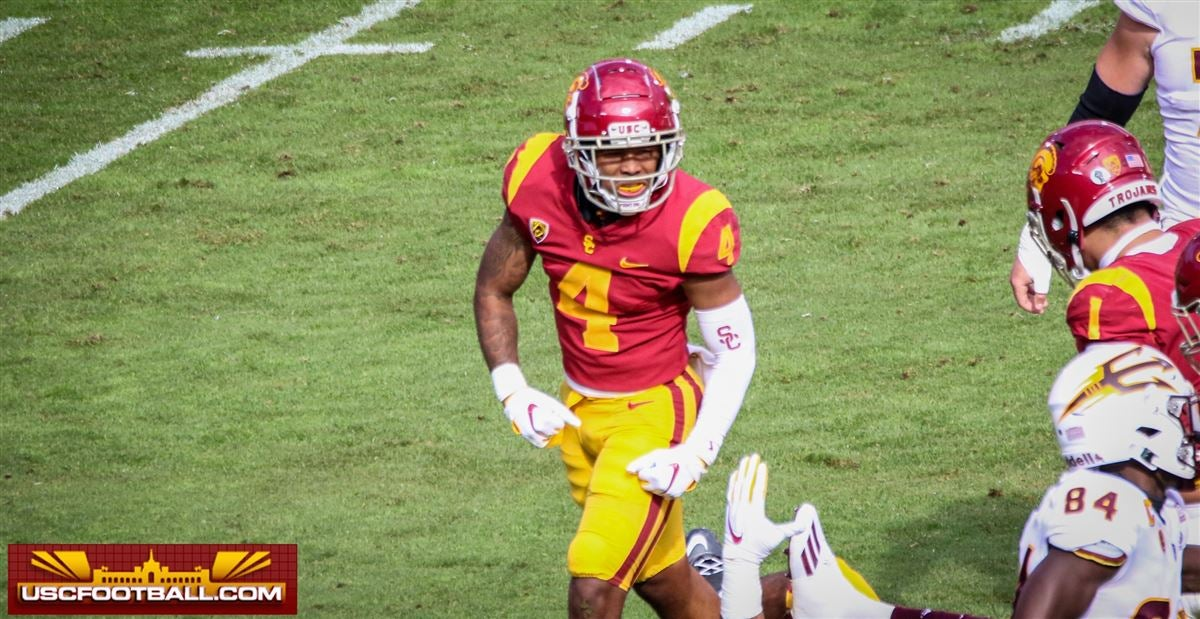 LOOK: USC safety Max Williams ahead of schedule with knee rehab