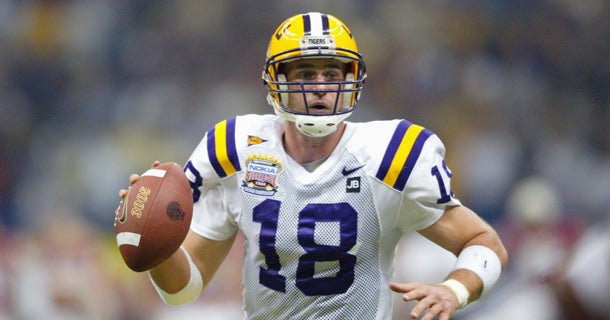 Look  LSU s tradition of wearing No. 18 5bc03a199