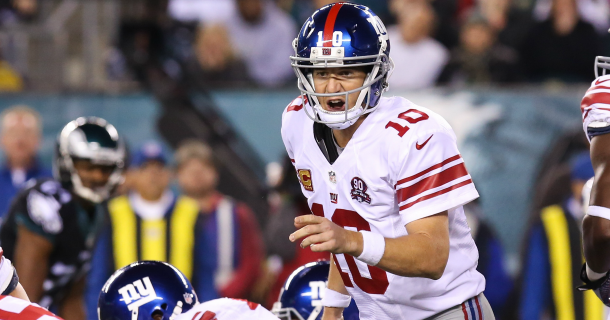 Eli Manning You Gotta Get Used To Playing In Philadelphia