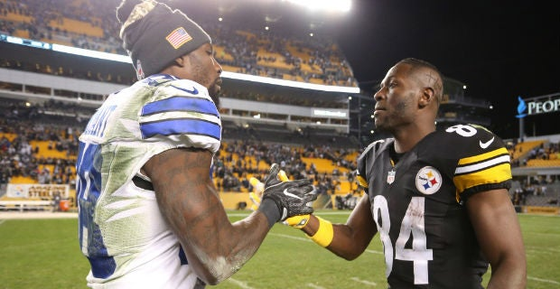 Antonio Brown Asks Dez Bryant To Join Steelers Through Twitter