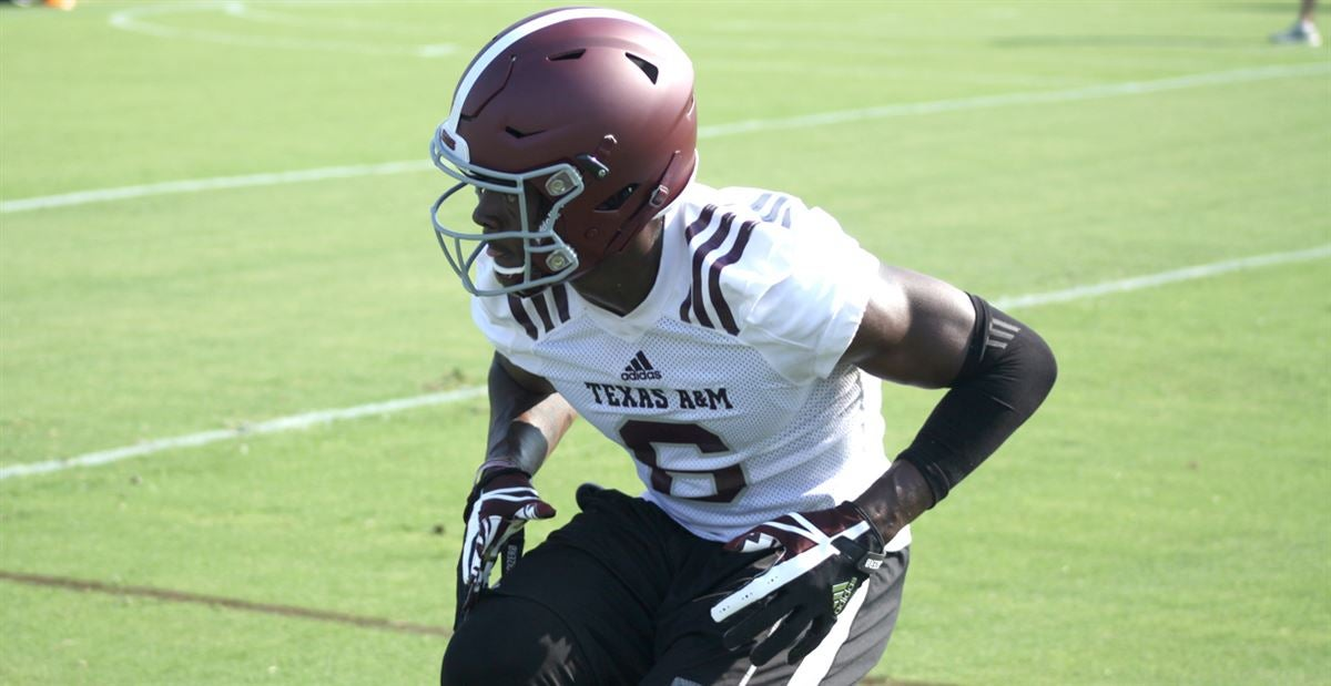 A&M's Donovan Wilson on missing last year: 'I'm here now'
