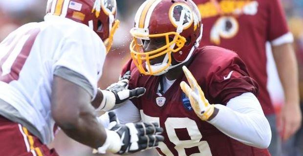 NFL Jerseys Sale - Redskins: Junior Galette is back in action