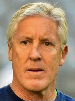 Pete Carroll Head Coach Fb Seattle Seahawks
