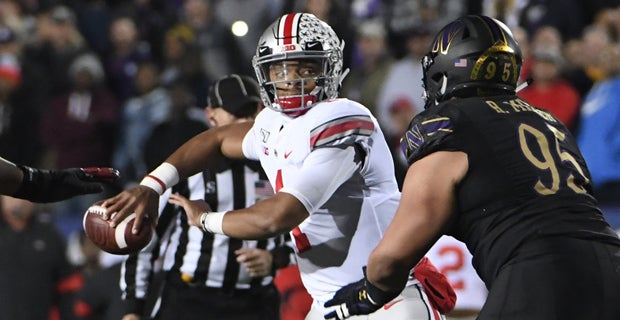 Watch: Fields' third-down mastery helps Buckeyes in rout