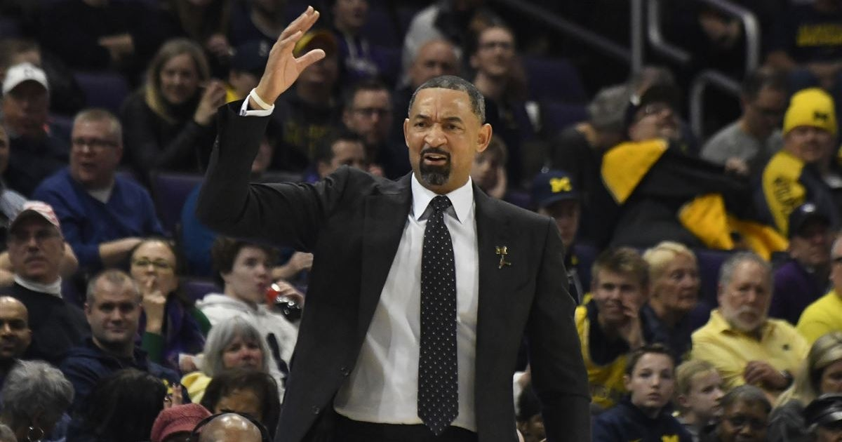 What Juwan Howard said after Michigan's win over Northwestern