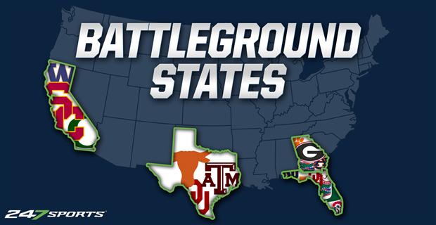How the battleground recruiting states were won in 2018