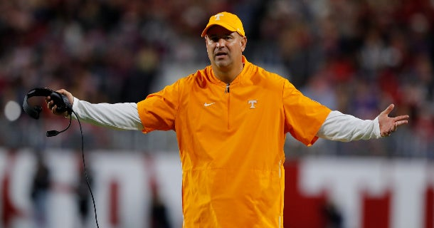 Father of Vols 2020 commit defends Jeremy Pruitt
