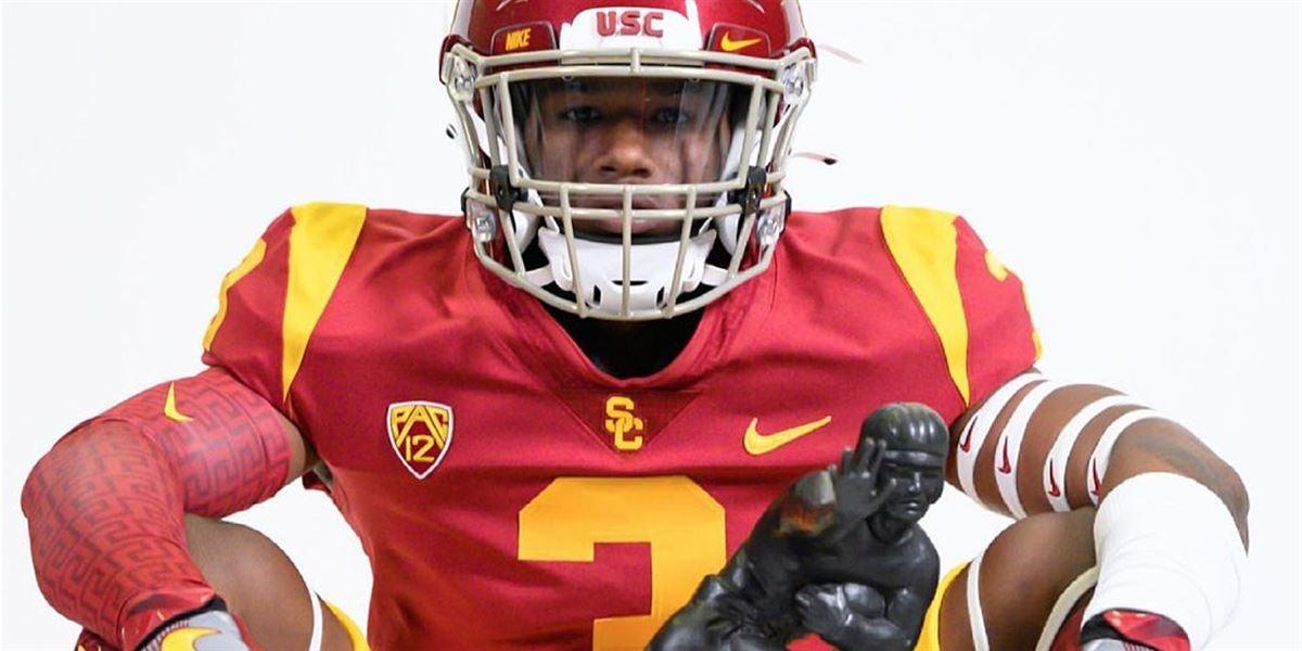 USC Trojans hosts unofficial visit from Sooner commit Raleek Brown