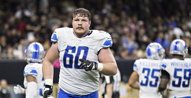 huge selection of 723c7 be714 Graham Glasgow ready to play wherever on Lions offensive line
