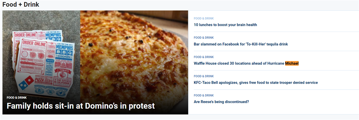 Lol Nothing On The Front Page Of Foxnews About Hurricane