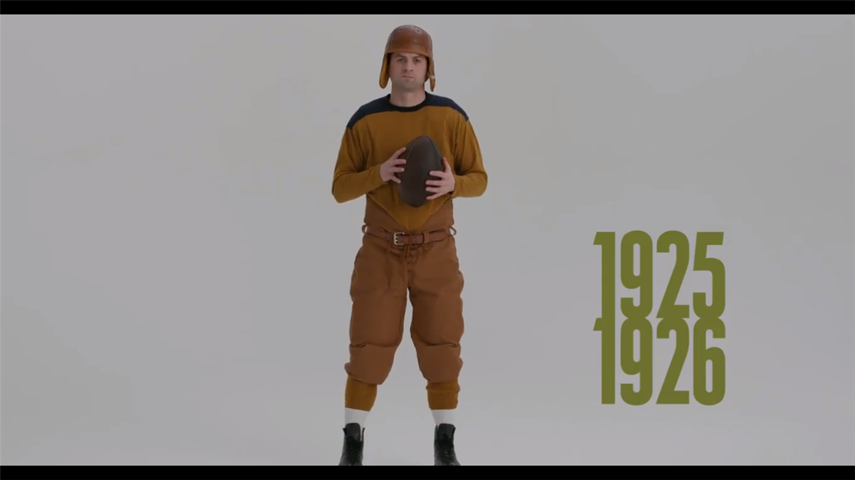 d670e3efc Video  Green Bay Packers take a look back at uniform history