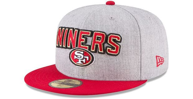 San Francisco 49ers 2018 draft hat revealed 3c191f07a54