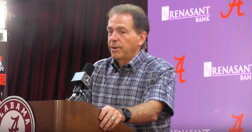 Everything Nick Saban said in first presser of Tennessee week