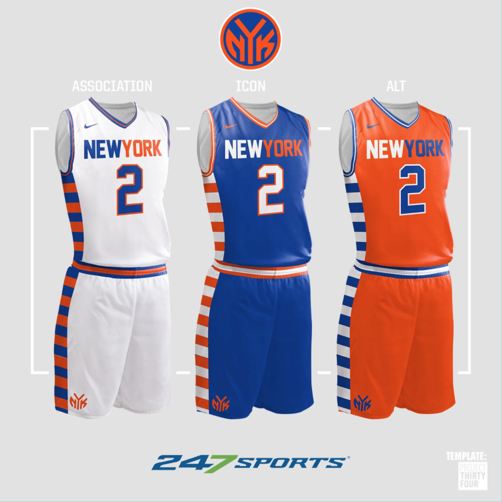 quality design 97c35 312c0 Look: NBA uniform concepts for some of the league's best teams