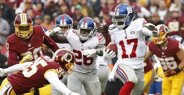 Jerseys NFL Sale - Dwayne Harris: New York Giants took the Redskins 'for granted'