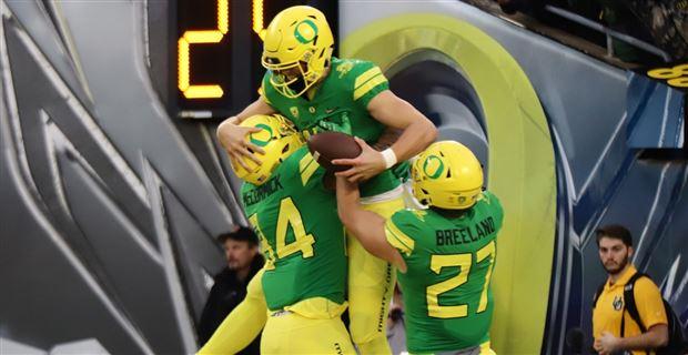 super popular 19edf 3c448 Oregon Ducks not atop Fansided jersey rankings