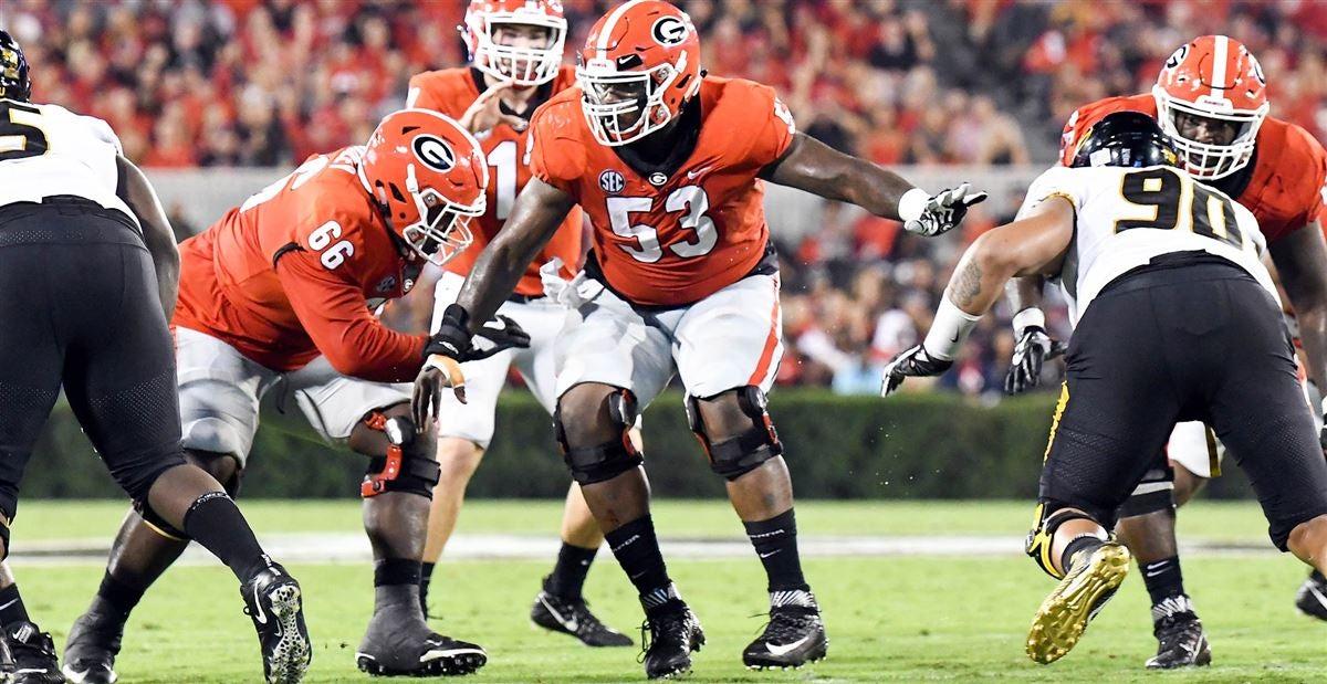 Georgia Bulldogs have 'ton of talent' on the OL