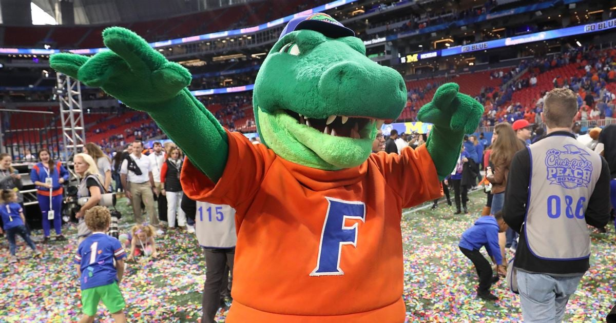 CFN's five-year ranking of college football teams has UF No. 11
