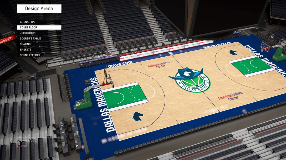 Look New Court Design Concepts For Every Nba Franchise