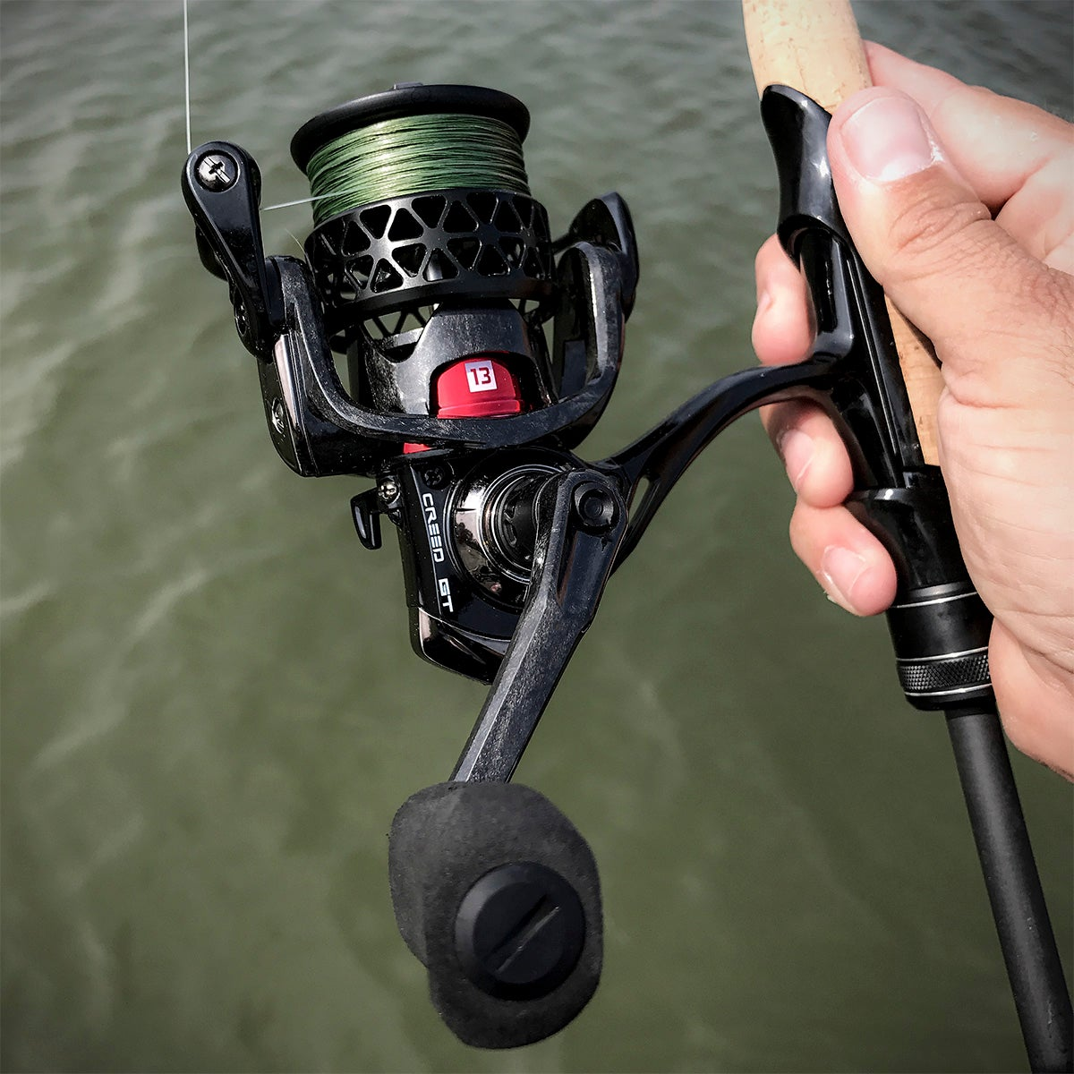 One3 creed gt spinning reel tackle review for 13 fishing combo