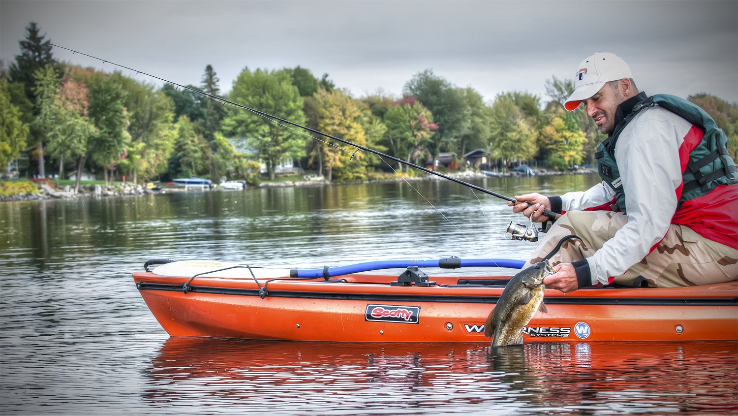 6 reasons why you should consider kayak fishing right now for Kayak bass fishing