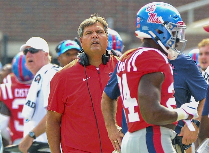 Rebels open as more than 30-point underdog to Alabama