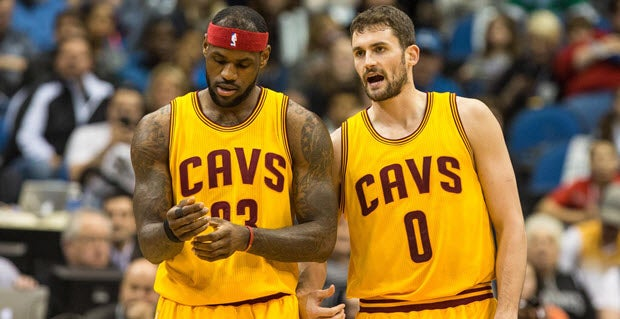 Kevin Love says LeBron James helped him cope with anxiety