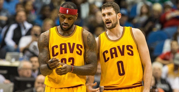 competitive price ad4e6 818b2 Kevin Love discusses LeBron James leaving Cavaliers for Lakers