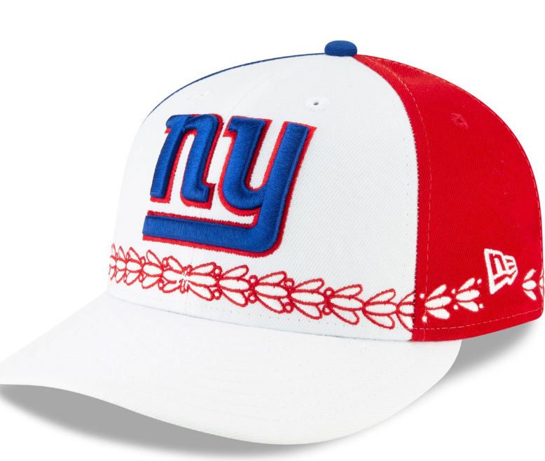 791594b5196 Giants 2019 NFL Draft day hats revealed by New Era