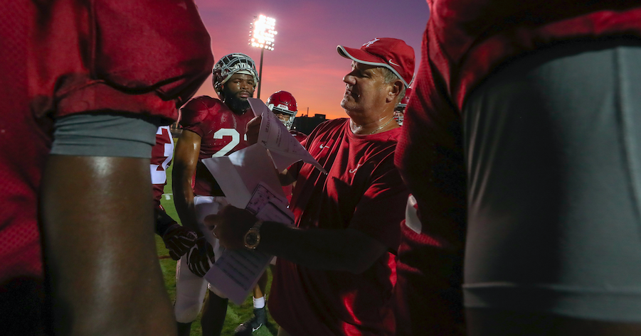 Sal Sunseri's hard-nosed coaching approach 'all out of love'