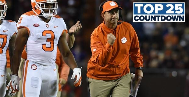 247Sports' Still-too-early Top 25: No. 1 Clemson