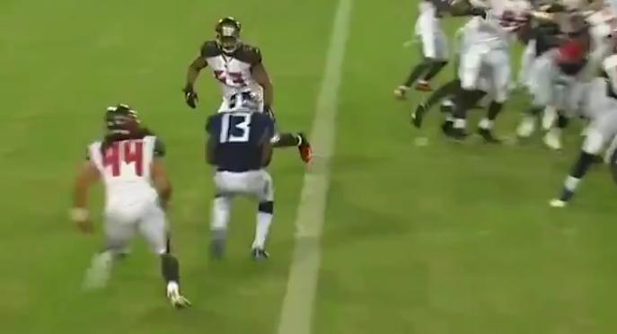 Taywan Taylor catches three-yard pass for second TD vs. Bucs
