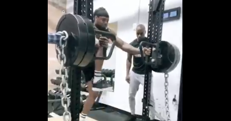 Watch: Derrick Henry viral workout continues ahead of contract