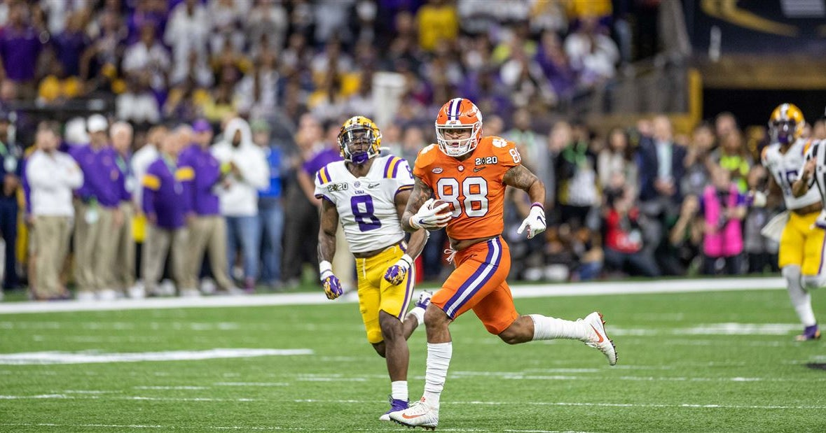 Clemson Spring Preview: Tight End