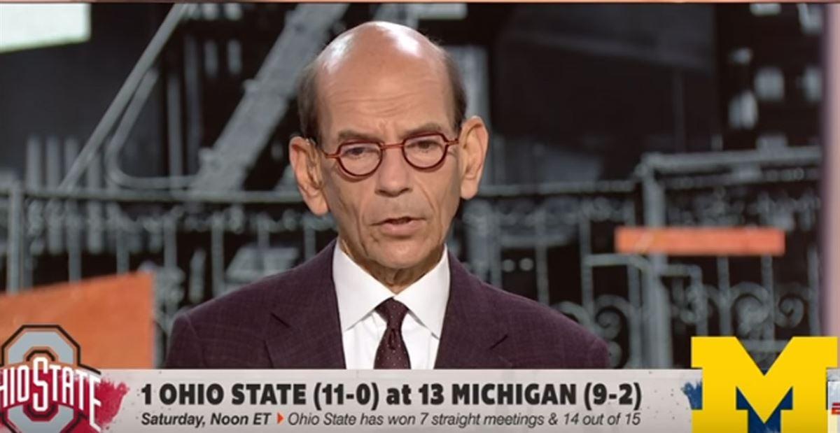 Paul Finebaum picks Michigan upset against Ohio State