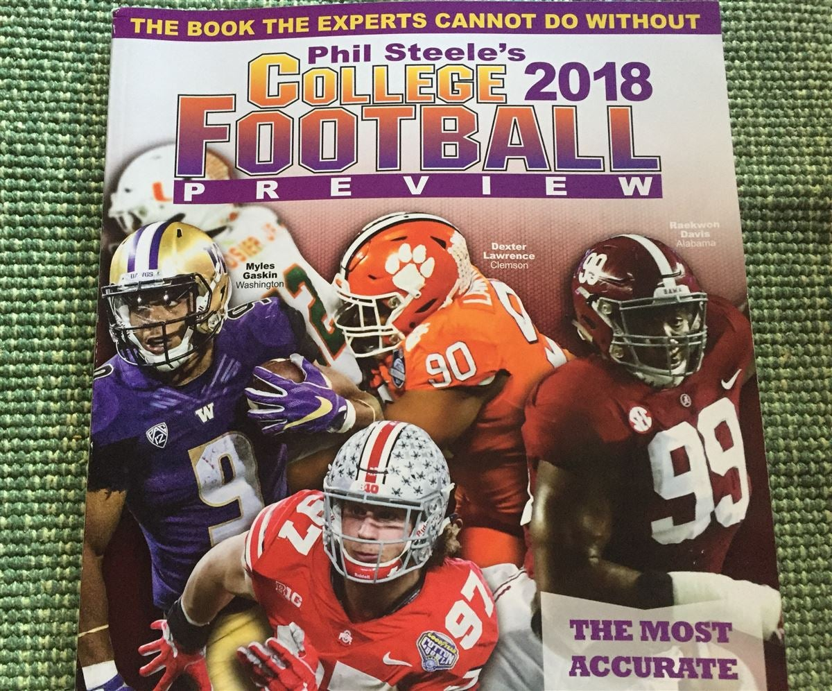 Phil Steele is Out, Phil Steele is Out, Time to Start Our Picks