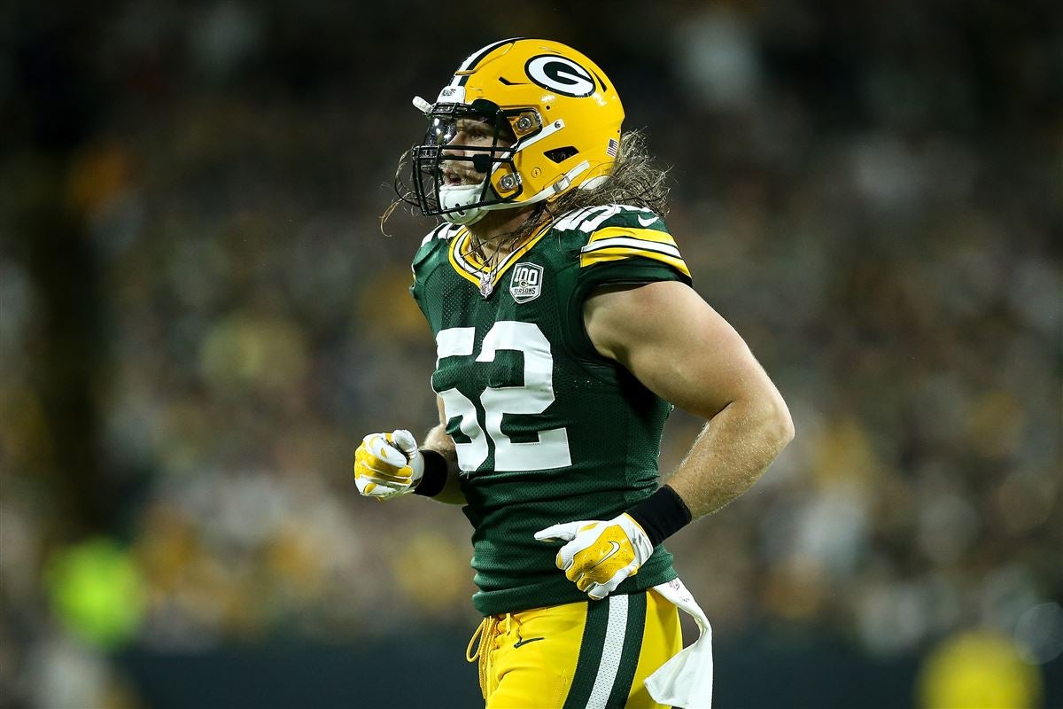 new styles e8e6d 57645 Clay Matthews reacts to Packers giving No. 52 to Rashan Gary
