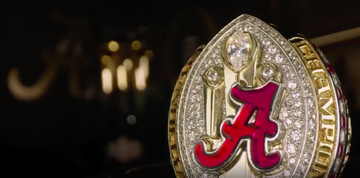 Alabama players, coaches receive their 2020 championship rings