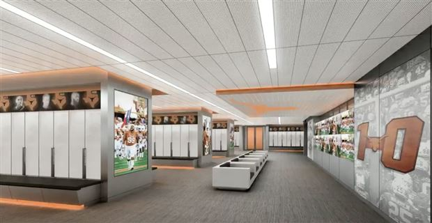 Texas Longhorn Locker Room Upgrade